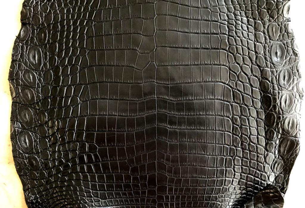 ナイルクロコダイル革